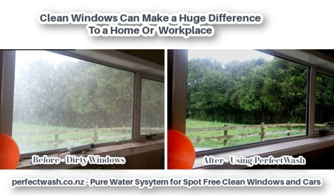 PerfectWash Before & After Window Cleaning
