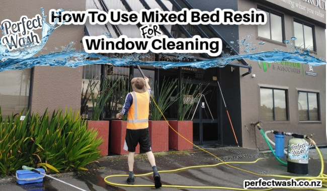 How To Use Mixed Bed Resin for Window Cleaning